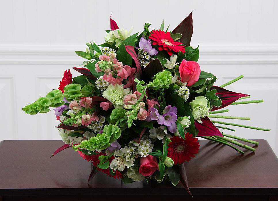 European Garden Hand Tied Bouquet