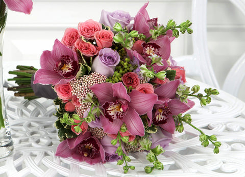 Pink Berry Bouquet