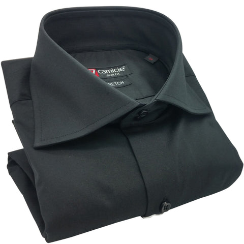 Men's Classic Black Shirt