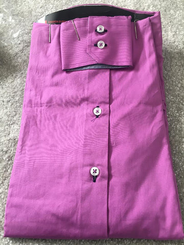 Men's Pink Single Collar Shirt