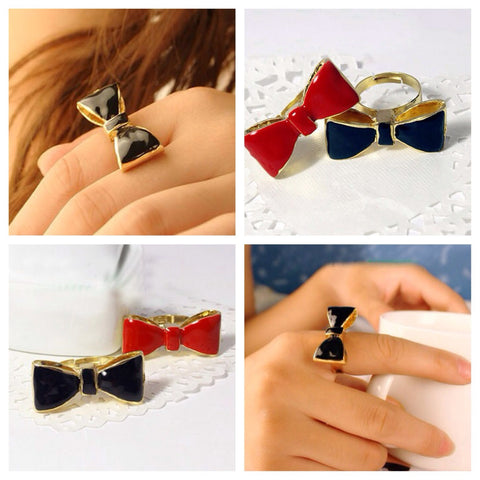 Kate bow ring - 2 colors!