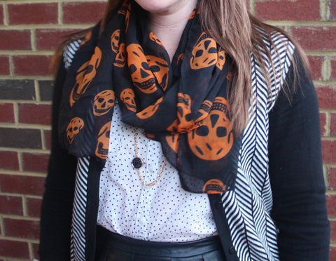 Skull Scarf - 2 Colors!