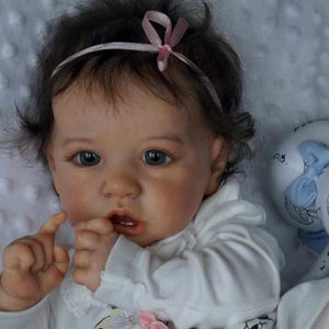 Real Life 22'' Little Cute Alina Reborn Baby Doll Girl