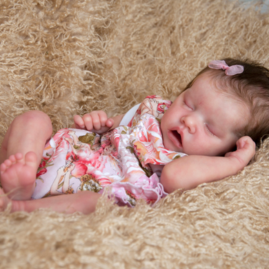 17'' SoftTouch Real Lifelike Saoirse Reborn Baby Doll Girl-Christmas Best Kids Gift - happybarbies