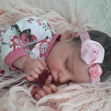 Load image into Gallery viewer, 17 inch SoftTouch Real Lifelike Gabriela Reborn Baby Doll Girl - happybarbies