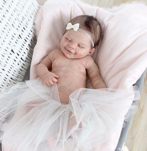 "20"" Teresa Truly Reborn Baby Doll Girl with Coos and ""Heartbeat"""
