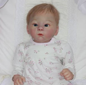 21'' Lovely Elianna Reborn Baby Doll Girl- Great for Birthday Present 22'' Cloth Body Reborn Dolls reborndollsshop