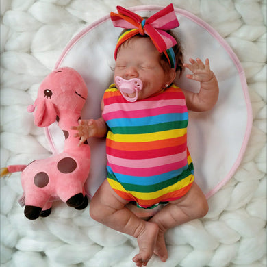 20'' Little Rylie Reborn Baby Doll - happybarbies