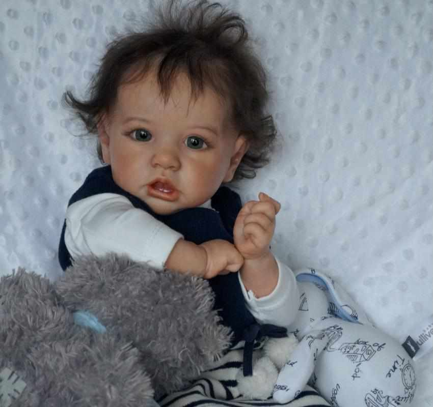 22'' Little Valerie Reborn Baby Doll Girl
