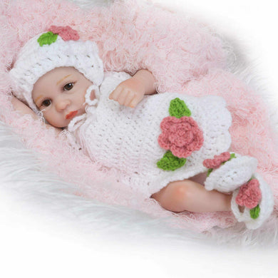 10 inch Little Alana Real Lifelike Baby Girl - happybarbies