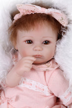 Load image into Gallery viewer, 16'' Little Izabella Reborn Baby Doll - happybarbies