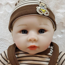 Load image into Gallery viewer, 22'' Little Chrles Reborn Baby Doll