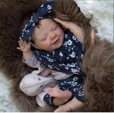 20'' Little Kinley Reborn Baby Doll Girl - happybarbies