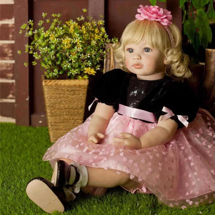 24'' Sweet Ophelia Toddler Doll Girl Realistic Toys Gift To Children