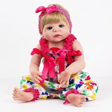 Load image into Gallery viewer, 22'' Little Alondra Real Lifelike Baby Girl