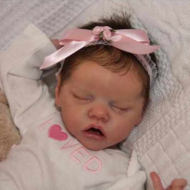 17 inch Real Lifelike Rayna Reborn Baby Doll Girl - happybarbies