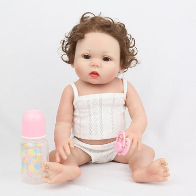 16 inch Little Natalie Real Lifelike Baby Girl - happybarbies