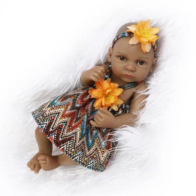 10 inch Little Callie Real Lifelike Baby Girl - happybarbies