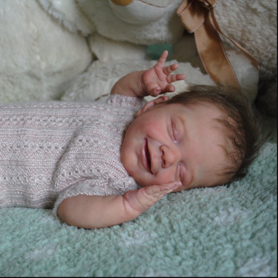 20'' Little Makenna Reborn Baby Doll Girl - happybarbies