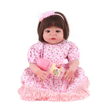 Load image into Gallery viewer, 22'' Little Viviana Real Lifelike Baby Girl