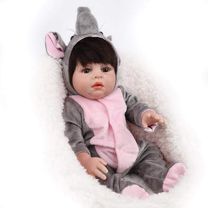 16 inch Little Samantha Real Lifelike Baby Girl - happybarbies