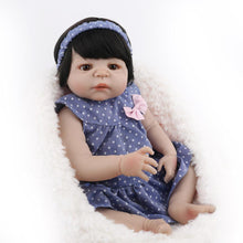Load image into Gallery viewer, 22'' Little Sabrina Real Lifelike Baby Girl