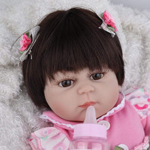 Load image into Gallery viewer, 16 inch Little Allison Real Lifelike Baby Girl - happybarbies