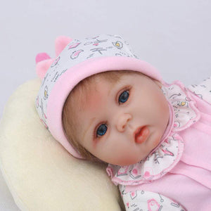 16 inch Little Keilani Reborn Baby Doll Girl - happybarbies