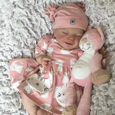 20'' Little Kenzie Reborn Baby Doll Girl - happybarbies