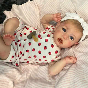 "[MID-YEAR OFFER] 22"" Tara Reborn Baby Doll Girl  with Coos and ""Heartbeat"""