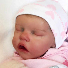 Load image into Gallery viewer, 17 inch Real Lifelike Samara Reborn Baby Doll Girl - happybarbies