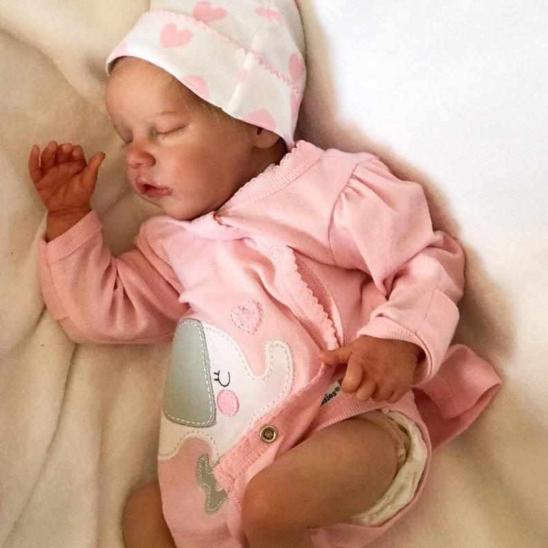 17 inch Real Lifelike Samara Reborn Baby Doll Girl - happybarbies