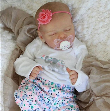 17'' Real Lifelike Journey Reborn Baby Doll Girl - happybarbies