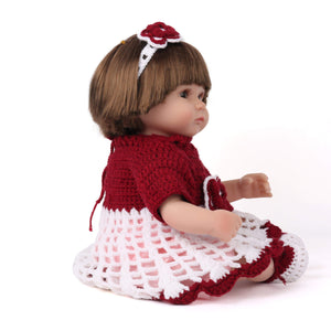 16 inch Little Avery Reborn Baby Doll Girl - happybarbies