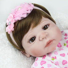 Load image into Gallery viewer, 22'' Little Shelby Real Lifelike Baby Girl