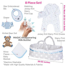 Load image into Gallery viewer, [It's a Boy!] Adoption Reborn Baby Essentials-8pcs Gift Set