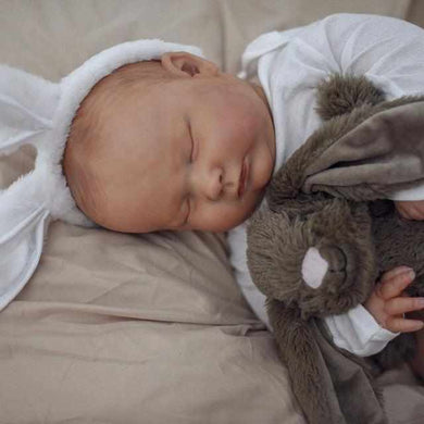 19'' Cute Staat Asleep Realistic Reborn Baby Doll Boy - happybarbies