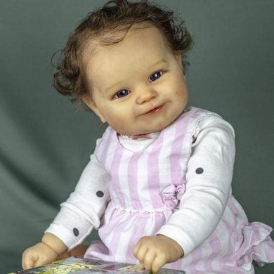 reborndollsshop Series Maddie 22'' Little Alessandra Cute Reborn Baby Doll -Realistic And Cute