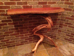 Fancy Eucalyptus and Juniper Table Shelf (sold)