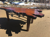 Lace Redwood Burl Coffee Table