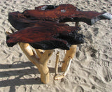 Abalone Redwood Table