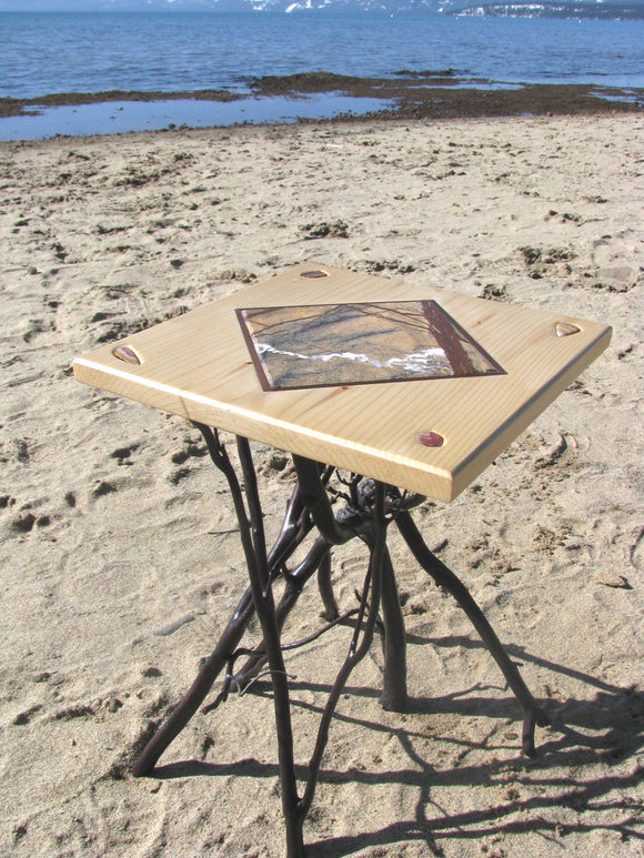 Marble Rock Manzanita End Table