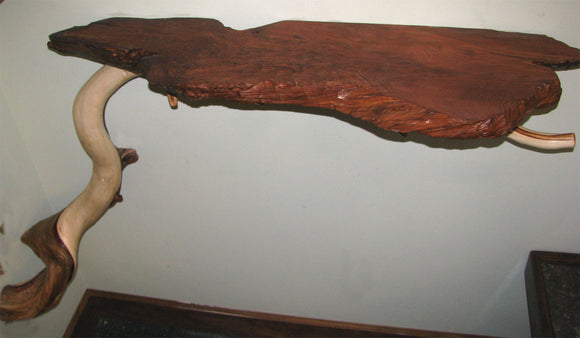 Redwood and Juniper Shelf (sold)