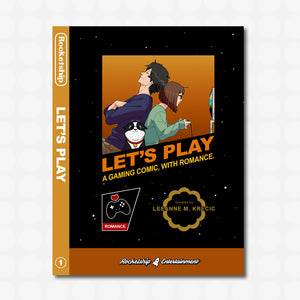 Let's Play Volume 1 Gamer Variant Edition (softcover) BACK ORDER