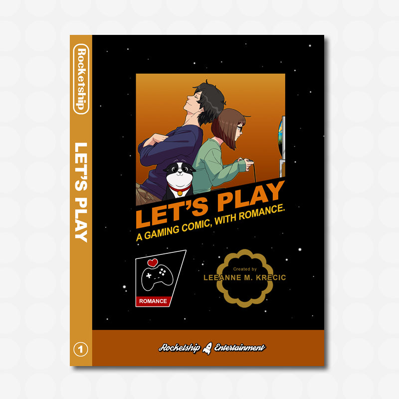 Let's Play Volume 1 Gamer Kickstarter Edition