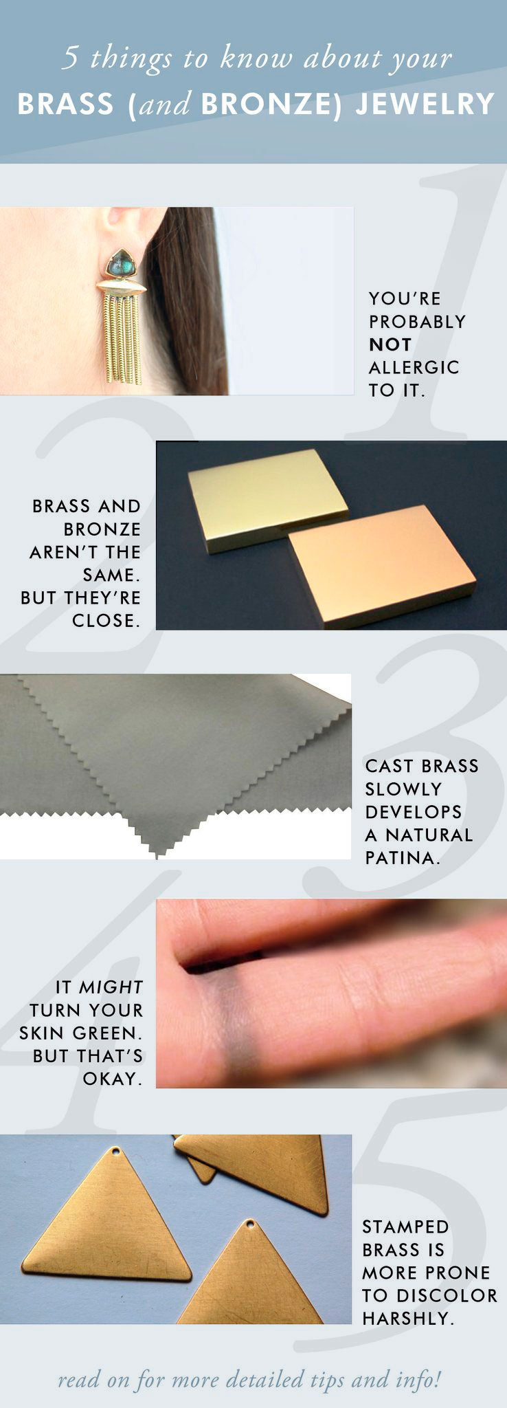 Brass jewelry tips you need to know