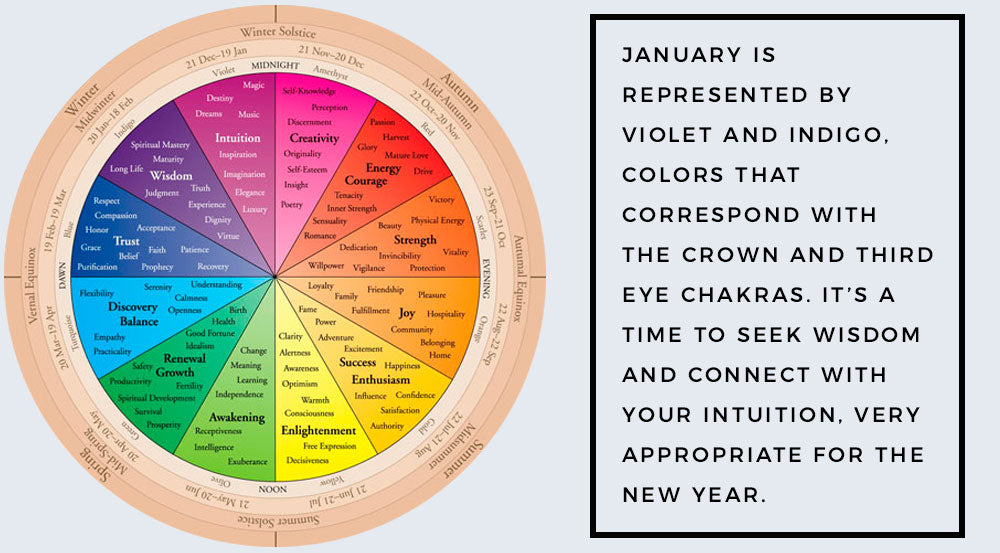 color wheel of life