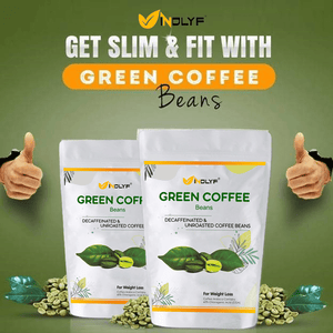 Green Coffee Beans (Pack of 2)