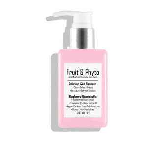 Best Seller! Natural Delicious Gentle Foaming Cleanser Blueberry + Honeysuckle  (normal to dry skin)