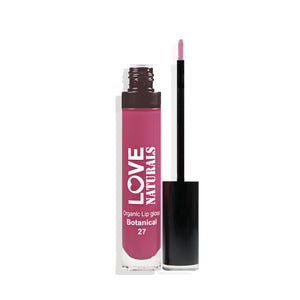 Sparkle Organic Lip Gloss (Juicy Strawberry)